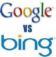 گوگل و بینگ